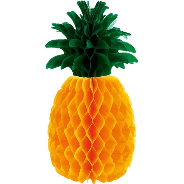 Bilde av Hawaii Ananas Bordekorasjon, 29x15cm