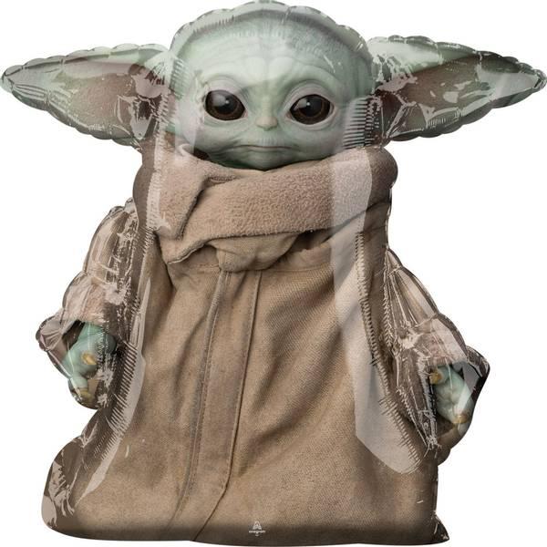 Bilde av Star Wars The Mandalorian, Baby Yoda/Grogu Airwalker Folieballon