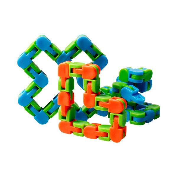 Bilde av Puzzle Sensory Tracks Snap, Fidget