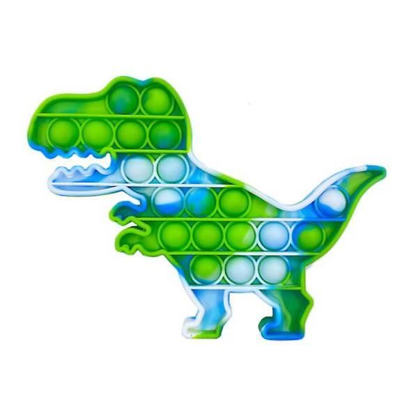 Bilde av Fidget Toy Blå og Grønn Dinosaur Pop it