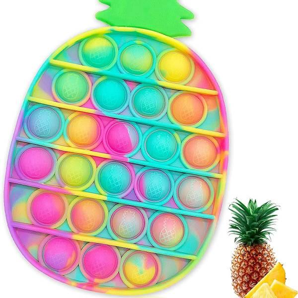 Bilde av Fidget Toy, Ananas Tie Die Pop It, 10x15cm