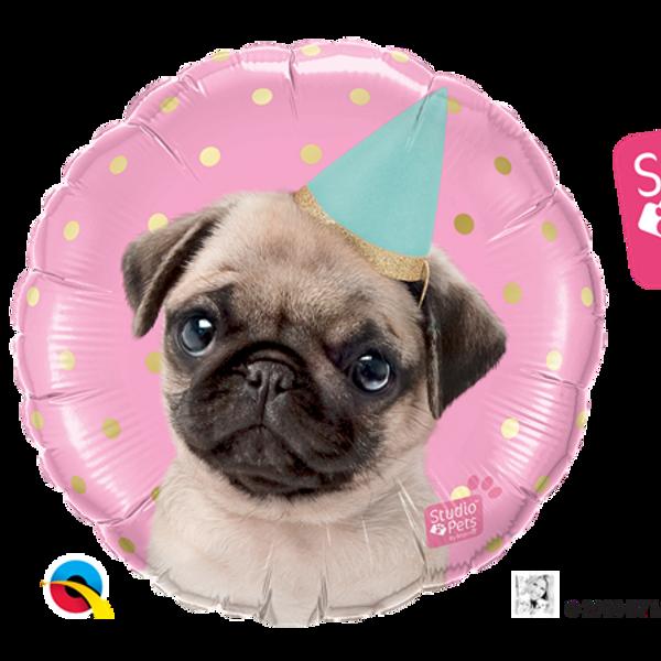 Bilde av  Folieballong, Party Pug