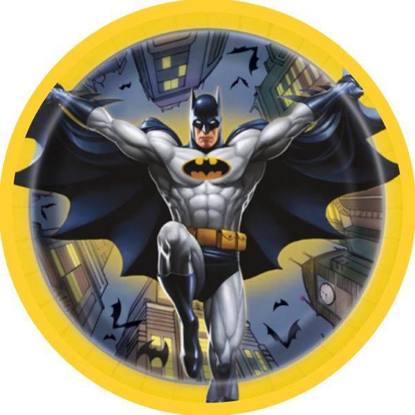 Bilde av Batman, Kakebilde 3, Sukkerpapir, 20cm