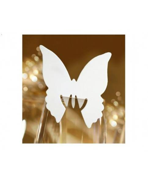 Bilde av Bordkort for glass 2, Sommerfugl
