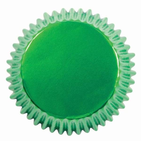Bilde av Muffinsformer, Metallisk Grønn, 30stk
