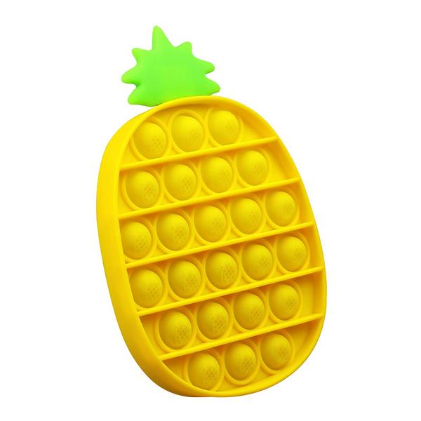 Bilde av Fidget Toy, Ananas, Gul Pop It