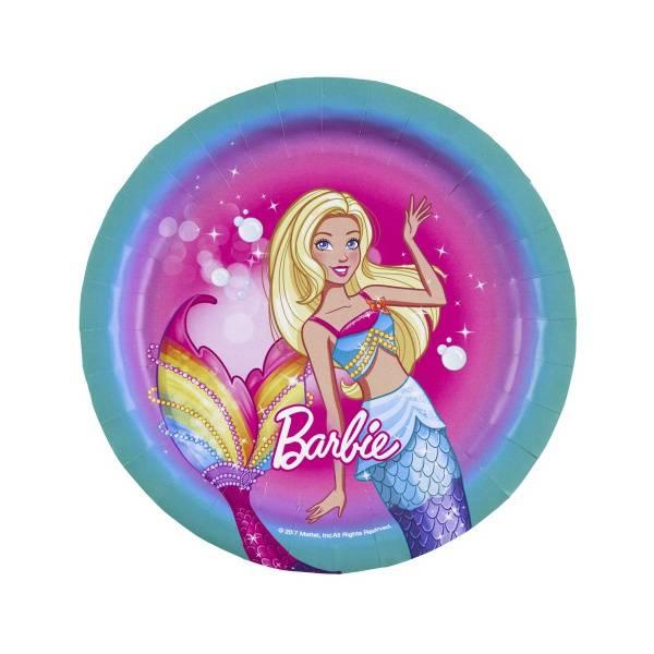 Bilde av Barbie, Asjetter, 8 stk