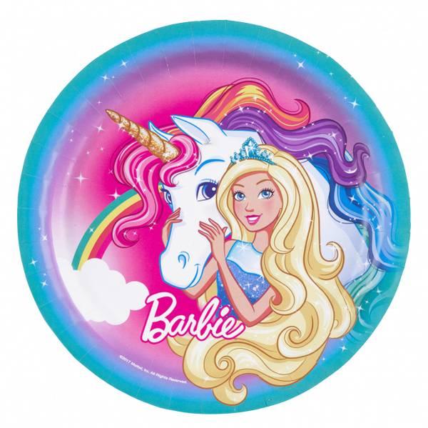 Bilde av Barbie, Tallerken, 23 cm