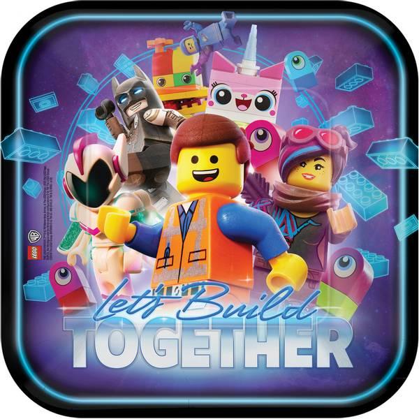 Bilde av LEGO, Tallerker, 8 stk