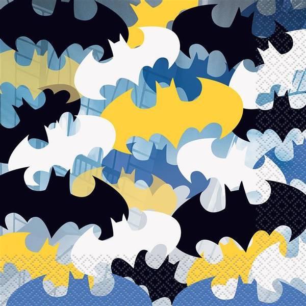 Bilde av Batman servietter 16 stk
