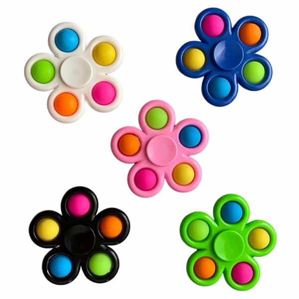 Bilde av Fidget Toys, Dimple Spinner, 5 farger