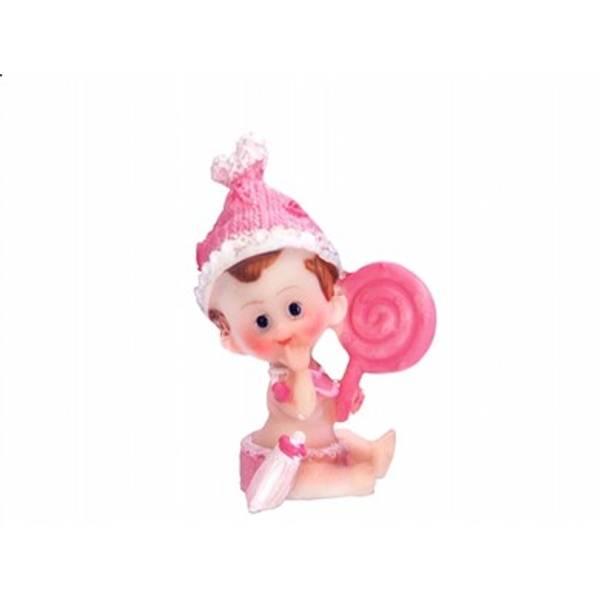 Bilde av Rosa Baby Porselensfigur 2