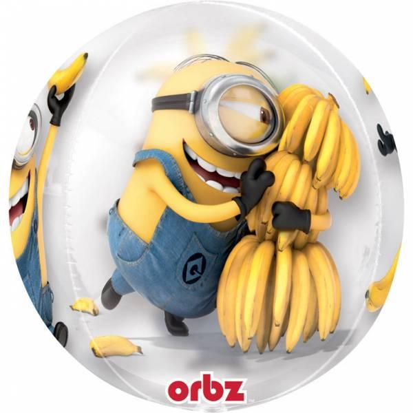 Bilde av Minions, Gjennomsiktig Ballong, 38*40 cm