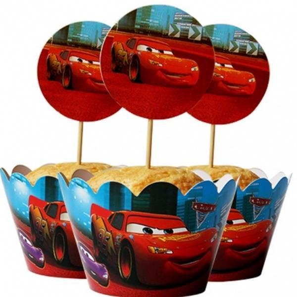 Bilde av Cars Cupcake Wrappers, 12 stk