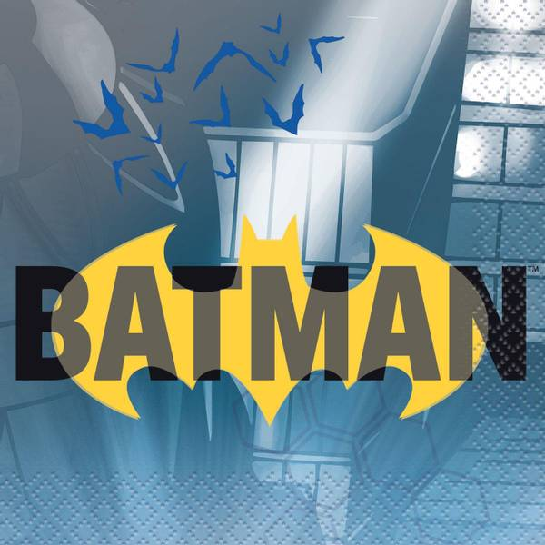 Bilde av Batman Caféservietter, 16 stk