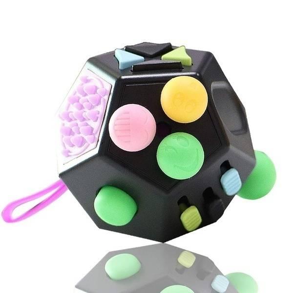 Bilde av Fidget Toys, Cube 12 sider