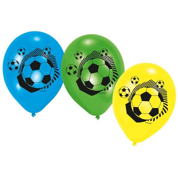 Bilde av Fotball Ballonger variant 2, 6 stk