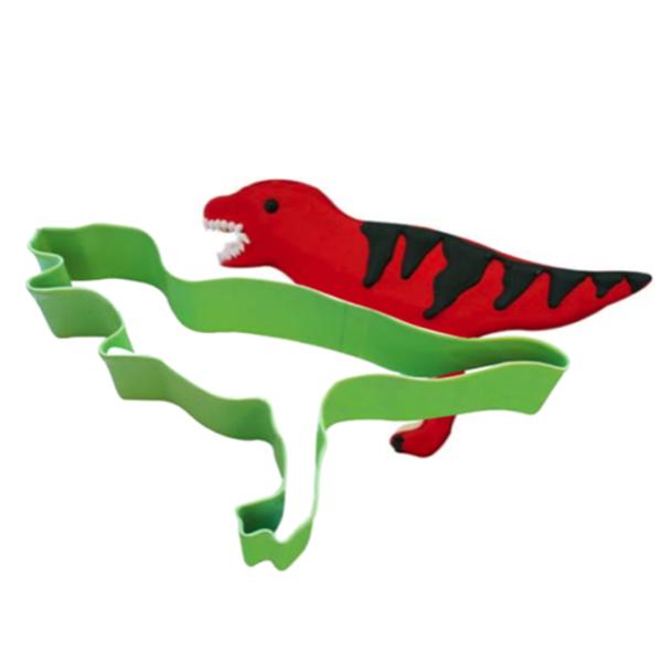 Bilde av Tyrannosaurus kakeutstikker lime grønn