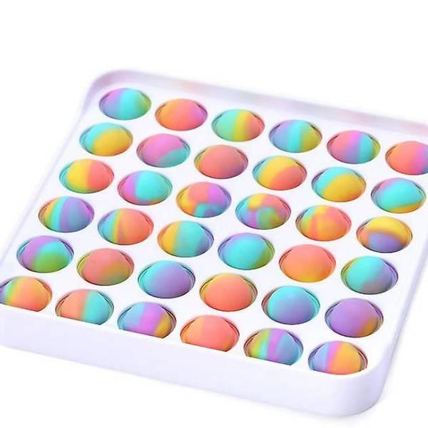 Bilde av Fidget Toy Marble Dimple Pop It, Firkant