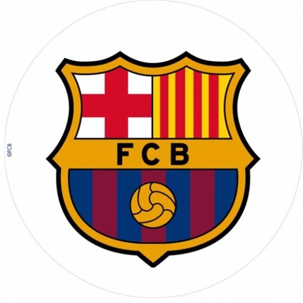 Bilde av Barcelona Fotball Kakebilde, 20 cm