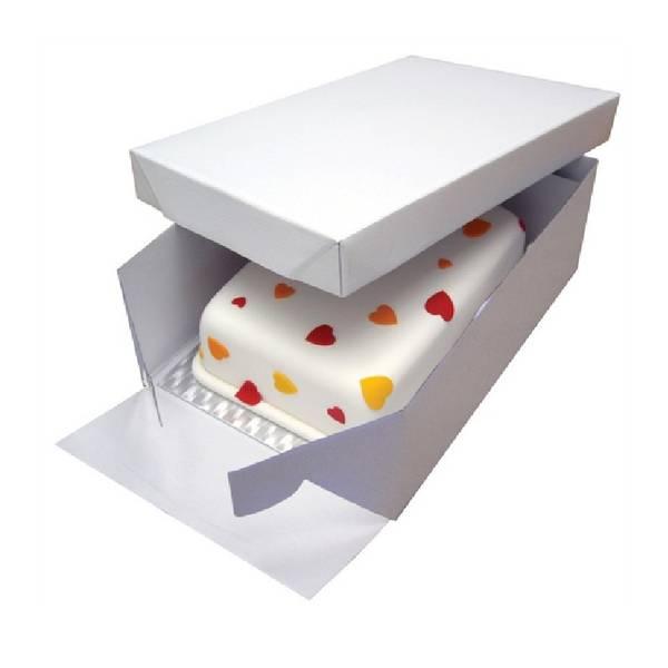 Bilde av Kakeeske, Rektangulær med kakebrett