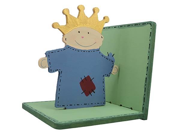 Bilde av Sett sammen og dekorer din egen Bokstøtte, Prins