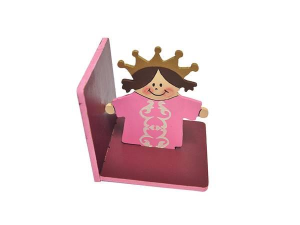 Bilde av Sett sammen og dekorer din egen Bokstøtte, Prinsesse