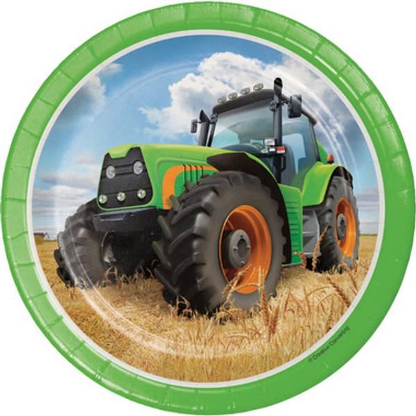 Bilde av Traktor, Asjetter, 8 stk