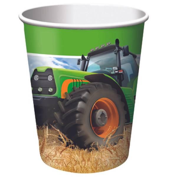 Bilde av Traktor, Kopper, 8 stk