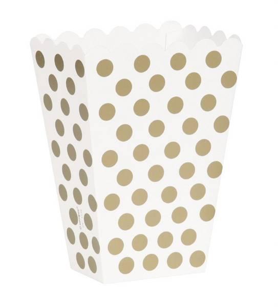 Bilde av Prikkete Gull Popcorn/Snack Box