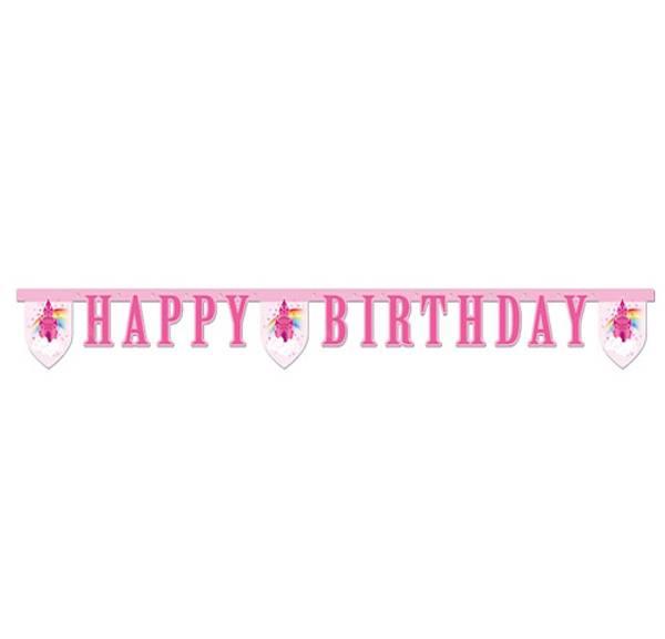 Bilde av Happy Birthday Banner, Regnbue