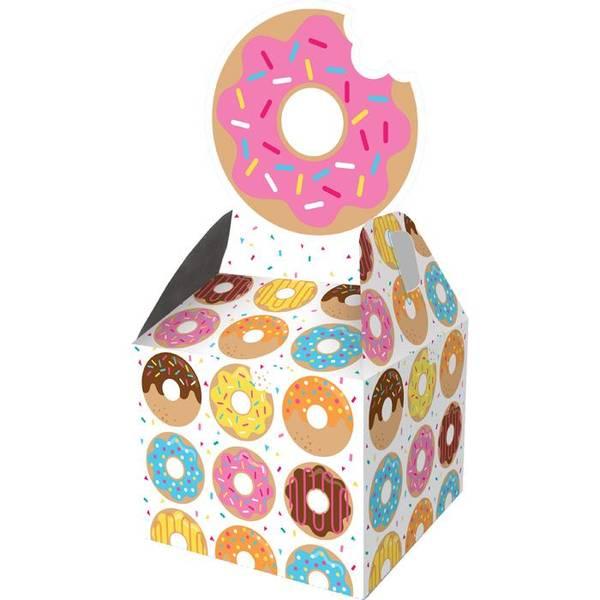 Bilde av Doughnut party boks, 8 stk