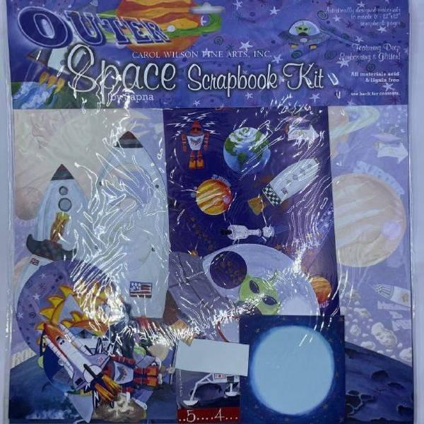 Bilde av Rakett scrapbook sett