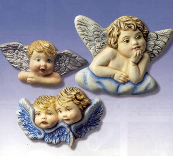 Bilde av Hobbyfun Gipsform 3 engler på skyer