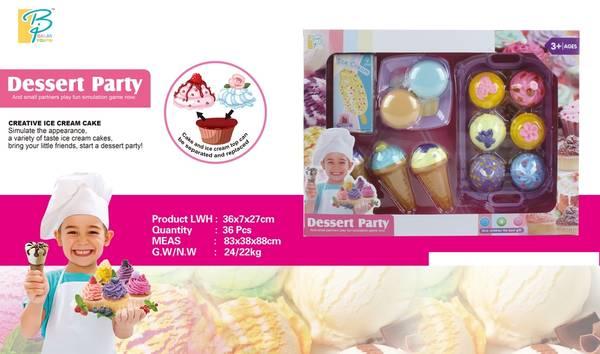 Bilde av Dessert Party - Leke kit