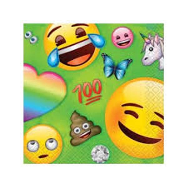 Bilde av Emoji Rainbow Fun Cafeservietter