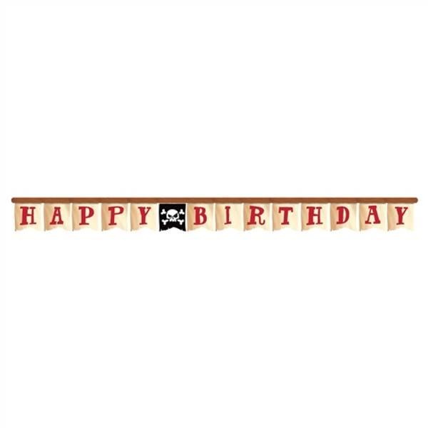 Bilde av Pirat Happy Birthday Banner