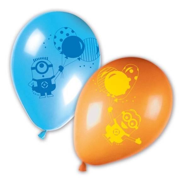 Bilde av Minions Balloon Party Ballonger, 8 stk