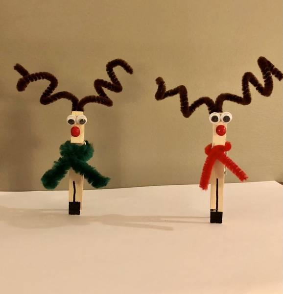Bilde av Hobbypakke Jul, Reinsdyr, 3 stk