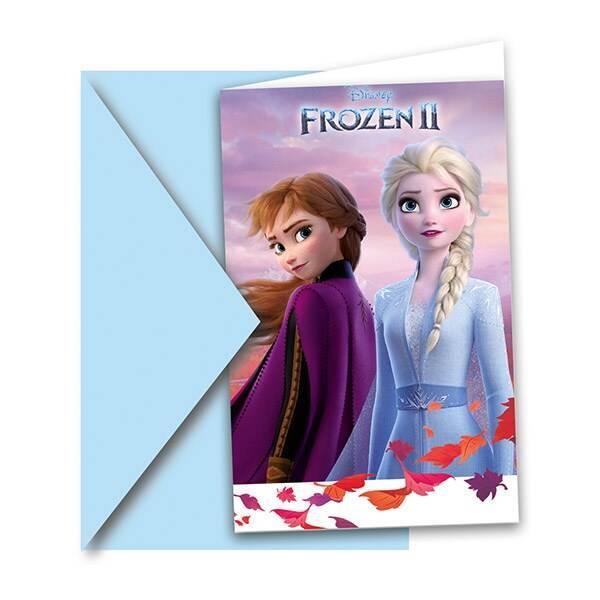 Bilde av Frost 2, Innbydelseskort 6 stk
