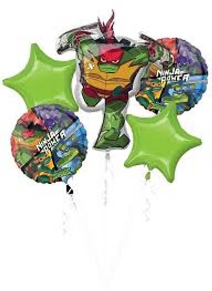 Bilde av Rise of the Ninja Turtles, Folieballongbukett