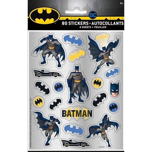 Bilde av Batman klistremerker 80 stk