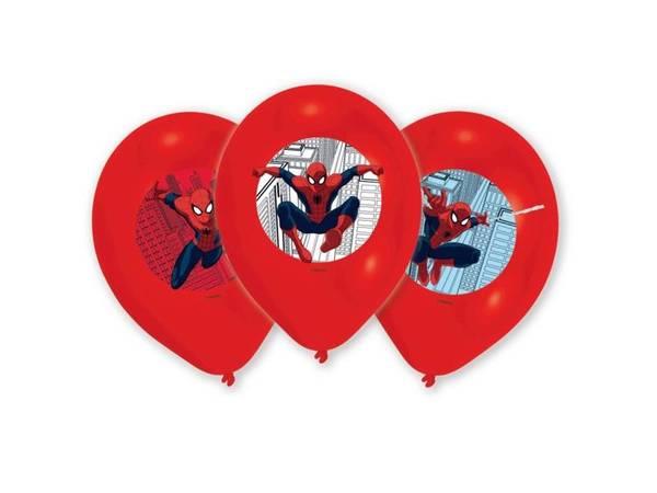 Bilde av Spiderman, Ballonger, 6stk