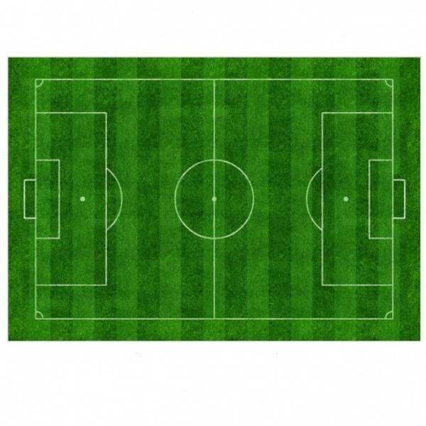 Bilde av Sukker, kakebilde, Fotballbane, A4,