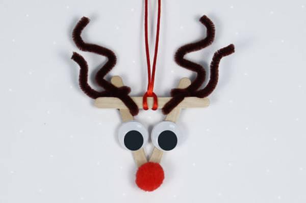 Bilde av Hobbypakke Jul, Ispinne Reinsdyr, 3 stk
