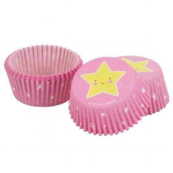 Bilde av Stjerne, Muffinsformer, 50 stk