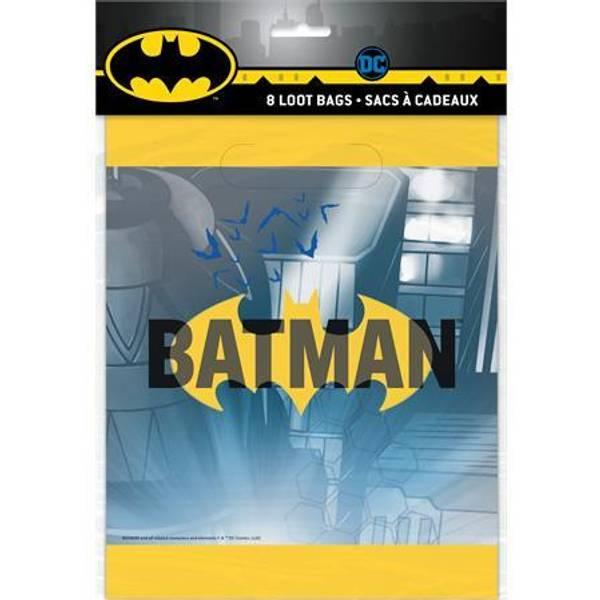 Bilde av Batman logo Godteposer 8stk