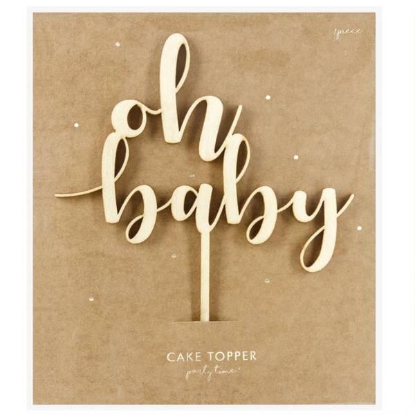 Bilde av Oh Baby Tre-Kaketopper, 17 cm