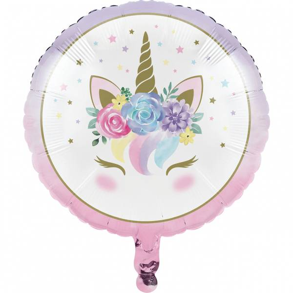 Bilde av Unicorn Baby Folieballong, 45,7 cm