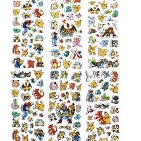 Bilde av Pokemon Klistremerker